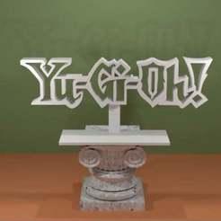 YuGiOh-Logo.jpg Télécharger fichier STL gratuit Yu-Gi-Oh! Logo • Modèle pour imprimante 3D, AwesomeA