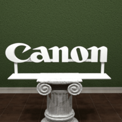 canon_logo.png Download free STL file Canon Logo • 3D printable design, AwesomeA