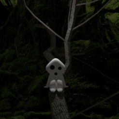 Descargar archivo 3D gratis Kodama - Princesa Mononoke, AwesomeA