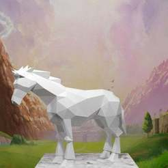 Young-Epona.jpg Download free STL file Young Epona • 3D printer model, AwesomeA