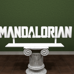 mandalorian-logo.png Download free STL file Mandalorian Logo • Object to 3D print, AwesomeA