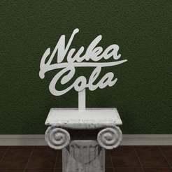 Descargar archivos STL gratis Logotipo de Nuka Cola, AwesomeA