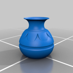 Legend_of_Zelda_Pot.png Download free STL file Legend of Zelda Pot - Hollow • 3D printer model, AwesomeA