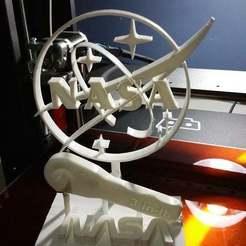Impresiones 3D gratis El soporte de la llave inglesa de la NASA, AwesomeA