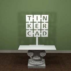 TinkerCad-Logo.jpg Télécharger fichier STL gratuit Logo TinkerCad • Design imprimable en 3D, AwesomeA