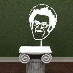 Download free 3D printing templates Dr. Steve Brule - Check It Out!, AwesomeA