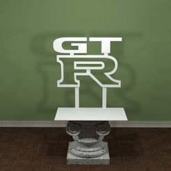Descargar archivo 3D gratis Logotipo de Nissan GTR, AwesomeA