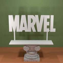 Marvel-Logo.jpg Download free STL file Marvel Logo • 3D printable design, AwesomeA