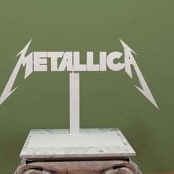 Descargar modelo 3D gratis Logotipo de Metallica, AwesomeA