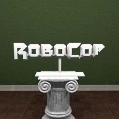 Robocop.jpg Download free STL file RoboCop Logo • 3D print design, AwesomeA