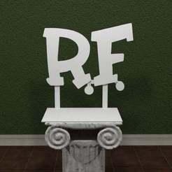Rat-Fink-Logo.jpg Download free STL file Rat Fink Logo • 3D printing template, AwesomeA