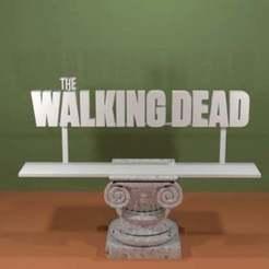 Walking_Dead.jpg Download free STL file The Walking Dead Logo • Design to 3D print, AwesomeA
