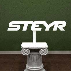 steyr-Logo.jpg Download free STL file Steyr Logo • 3D printable design, AwesomeA