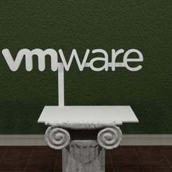 VMware-Logo.jpg Download free STL file VMware Logo • 3D printing design, AwesomeA
