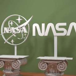 Descargar modelo 3D gratis Logotipo de la NASA, AwesomeA