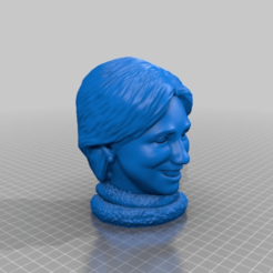 Hillary.png Download free STL file Crappy Politician - Hillary • 3D print design, AwesomeA