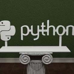 Python-Logo.jpg Download free STL file Python Logo • 3D print object, AwesomeA
