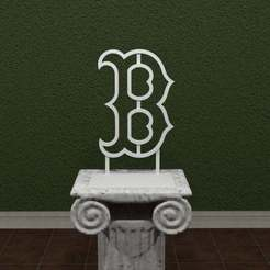 Download free STL Boston Red Sox Logo, AwesomeA