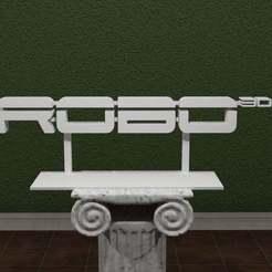 ROBO3d.jpg Télécharger fichier STL gratuit ROBO 3D Logo • Plan imprimable en 3D, AwesomeA