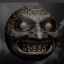 Descargar archivo 3D gratis La máscara de Majora: Luna, AwesomeA