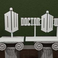 Dr-who-Logo.jpg Download free STL file Doctor Who Logo • 3D printer design, AwesomeA
