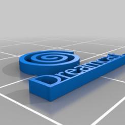 Descargar modelos 3D gratis Logotipo de Sega DreamCast, AwesomeA