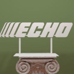 Echo-Logo.png Download free STL file Echo Logo • 3D printer object, AwesomeA