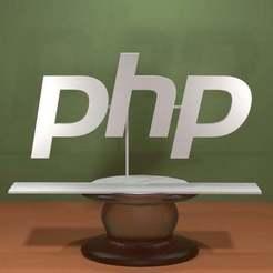 Php-Logo.jpg Download free STL file Php Logo • Design to 3D print, AwesomeA
