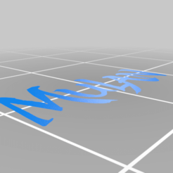 Download free 3D printer designs Mulan Logo!, AwesomeA