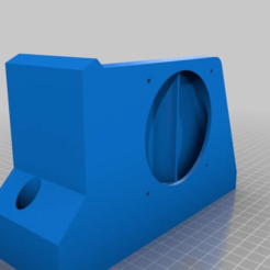 Download free STL PSU Holder with fan for Prusa MK3 Ikea Lack Enclosure, uepsie