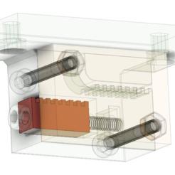 tensioner3.PNG Télécharger fichier STL gratuit Prusa (Ours) MK3 / MK2S / MK2.5 Support et tendeur de ceinture sur l'axe Y • Modèle pour imprimante 3D, uepsie