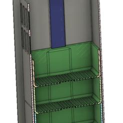 Download free 3D printer designs Fluval Flex Aquarium Filter Mod with media baskets, uepsie