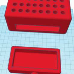 Download free 3D printer model pencil box, carlosalbaladejoster