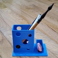 20201101_084548.jpg Télécharger fichier STL gratuit Bean Pro : Le successeur de The Bean Pencil Holder • Modèle pour impression 3D, shanshinesong