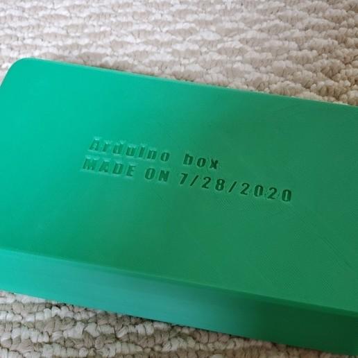 Download free 3D printing templates Arduino box for Elegoo Uno R3 Kit, shanshinesong