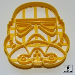 Download free 3D printer designs Star Wars cutters - cookie cutter, alsur3d