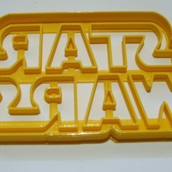 Download 3D printer designs Star Wars cutters - cookie cutter, alsur3d