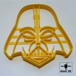 Mascara de Darth Vader cults 3d.jpg Télécharger fichier STL Coupeurs Star Wars - coupe-biscuits • Plan pour imprimante 3D, alsur3d