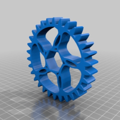 Download free STL file Gear 30T • 3D printable object, Borja16498