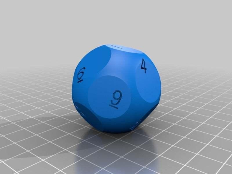 ndie_20140622-18394-dhpmlj-0.jpg Download free STL file 13-sided die • Model to 3D print, rsheldiii
