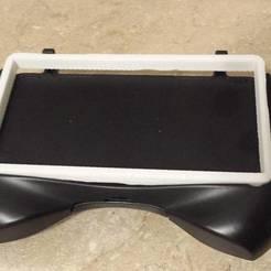 tjOY3NH.jpg Télécharger fichier STL gratuit Nintendo 3DS Original Adaptateur de poignée à batterie étendue • Design pour impression 3D, rsheldiii