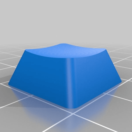 dsa_row_3.png Download free SCAD file Parametric Cherry MX/Alps Keycap for Mechanical Keyboards • 3D printable object, rsheldiii