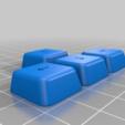 Download free SCAD file KeyV2: Parametric Mechanical Keycap Library • 3D printable object, rsheldiii