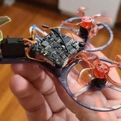 20200626_195749.jpg Télécharger fichier STL gratuit Mini Tricoptère NanoTri • Objet à imprimer en 3D, rsheldiii