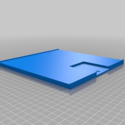 Download free SCAD file Solidoodle 3 heated bed upgrade • Object to 3D print, rsheldiii