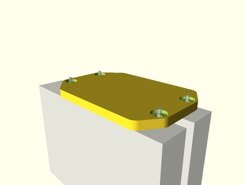 """689e7b5e8abbfede7517459a8d5de6d2.png Télécharger fichier SCAD gratuit NCASE M1 3.5"""" Dual HDD Bracket - TG Window • Modèle imprimable en 3D, rsheldiii"""