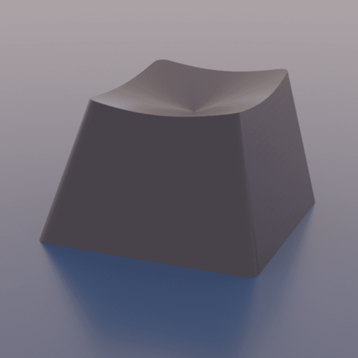 3d_surface_dish_-_distance_function.png Download free STL file Math Keycaps • 3D printer design, rsheldiii