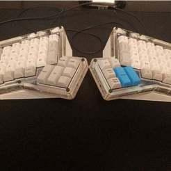 Télécharger fichier 3D gratuit Tente Ergodoxe personnalisable (originale), rsheldiii