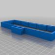 Download free SCAD file Gherkin (Ortholinear Keyboard) Spacebar Sandwich Case • 3D printing design, rsheldiii