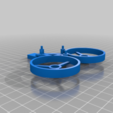 Download free 3D model Brushed TinyWhoop Tricopter Concept, rsheldiii